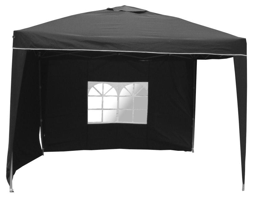 sonderpreis wasserdichter faltpavillon alu pavillon pavillon schwarz ebay. Black Bedroom Furniture Sets. Home Design Ideas