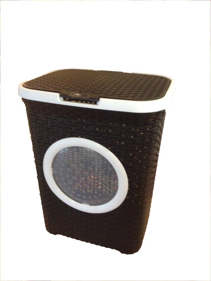 w schekorb kunststoff rattan w schetruhe w schebox w sche schwarz und wei ebay. Black Bedroom Furniture Sets. Home Design Ideas