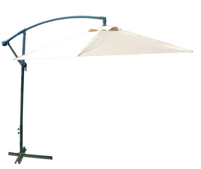 sonnenschirm holz 3m ampelschirm sonnenschirm 3m mit. Black Bedroom Furniture Sets. Home Design Ideas